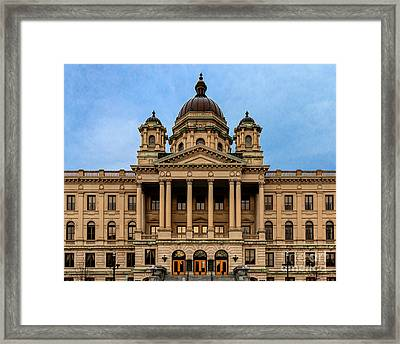Courthouse Framed Print