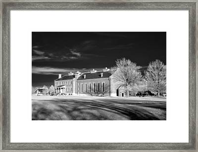 Courthouse View Framed Print by James Barber