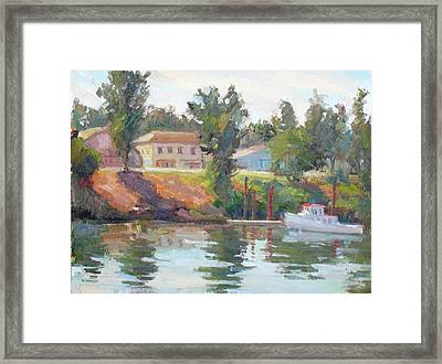 Courtland View Framed Print by Patris M