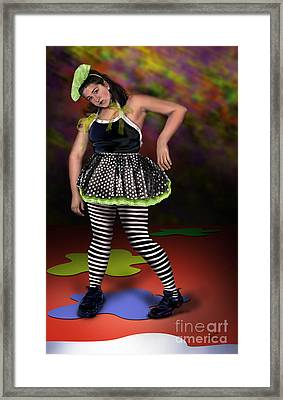 Courtney 1 Framed Print by Reggie Duffie