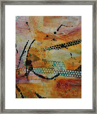 Framed Print featuring the painting Courtship 3 by Kate Word