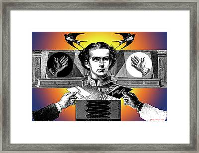 Courtship Of X The Unknown Framed Print