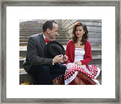 Courtship Framed Print by Sonja Anderson
