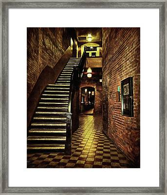 Presence Of The Past Framed Print by Marilyn Wilson