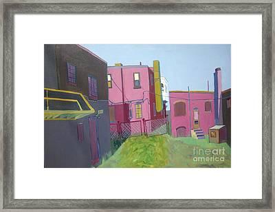Courtyard View Framed Print by Debra Bretton Robinson