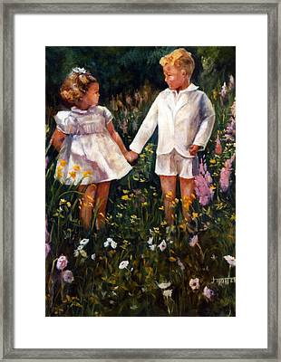 Cousins Framed Print by Jimmie Trotter