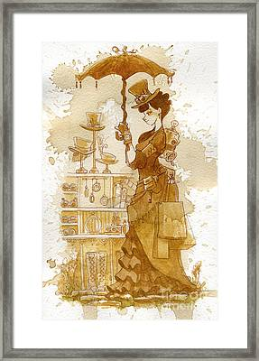 Couture Framed Print by Brian Kesinger