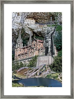 Framed Print featuring the photograph Covadonga by Angel Jesus De la Fuente