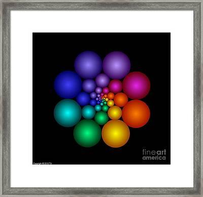 Covalent 8 Framed Print