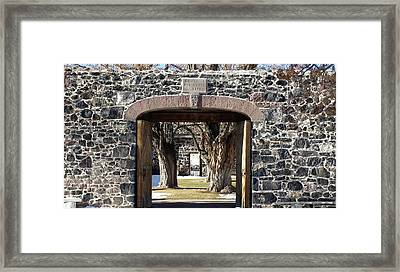 Cove Fort, Utah Framed Print