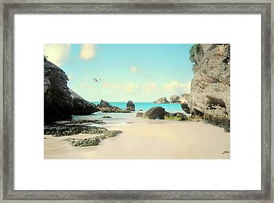 Cove Of Paradise Framed Print