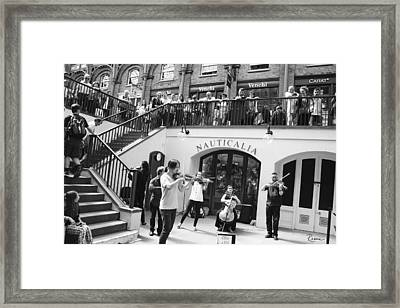 Covent Garden Music Framed Print