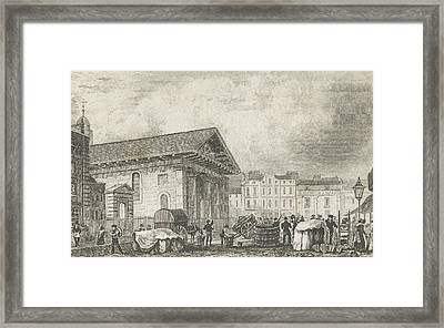 Covent Garden Framed Print by Thomas Hosmer Shepherd