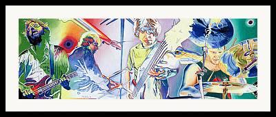 Famous Musician Framed Prints