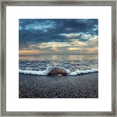Cover Me Framed Print by Stelios Kleanthous