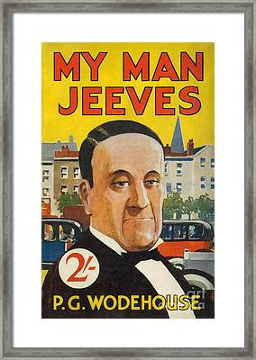 Cover Of The American Edition Of P. G. Wodehouse's My Man Jeeves Framed Print