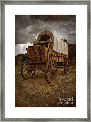 Covered Wagon 1 Framed Print