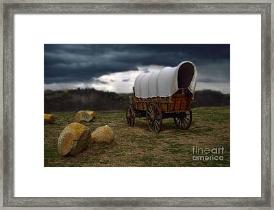 Covered Wagon 2 Framed Print