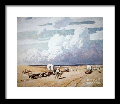 Prairie Framed Prints