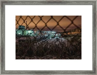 Covert Danger Framed Print