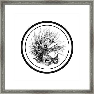 Coverup Framed Print by Roa Malubay