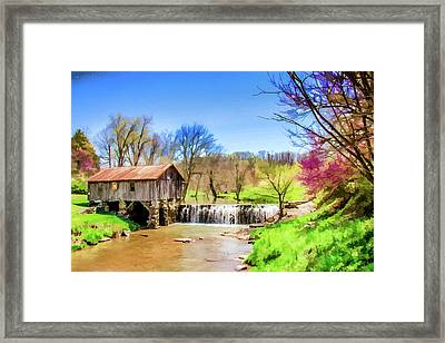 Cowan's Mill Framed Print by Lisa Lemmons-Powers