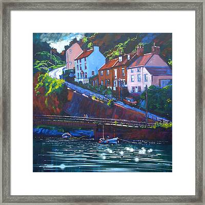 Cowbar - Staithes Framed Print by Neil McBride