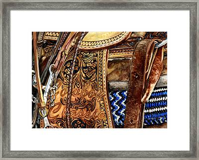 Cowboy Classic Framed Print by Nadi Spencer