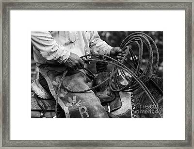 Cowboy Country 2 Framed Print by Bob Christopher