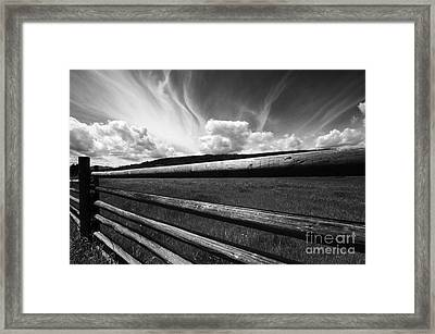 Cowboy Country Framed Print