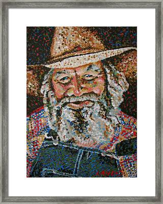 Cowboy II Framed Print by Denise Landis