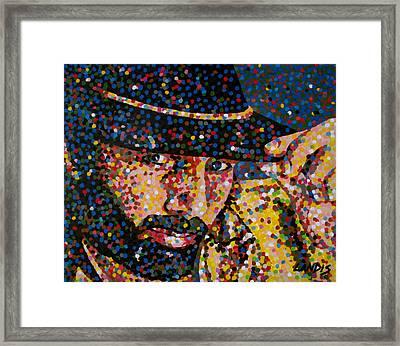 Cowboy Iv Framed Print by Denise Landis