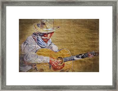 Cowboy Poet Framed Print