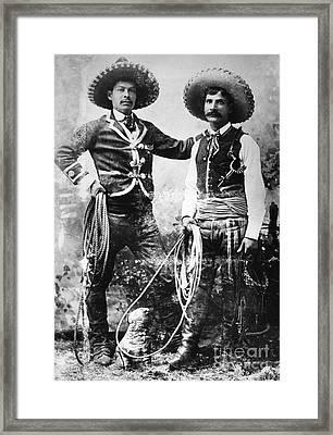 Cowboys, C1900 Framed Print by Granger