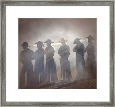 Cowboys Framed Print by Jerry L Barrett