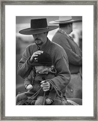 Cowboys Signature 5 Framed Print