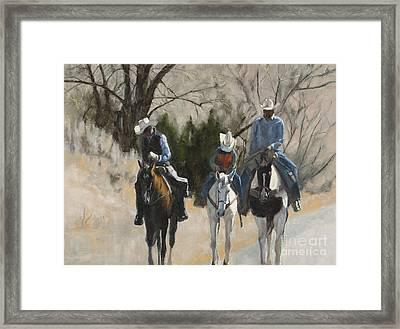 Cowboys Framed Print