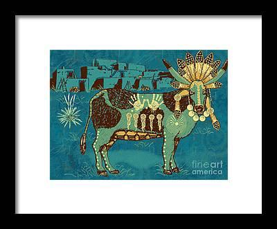 Bulls Framed Prints