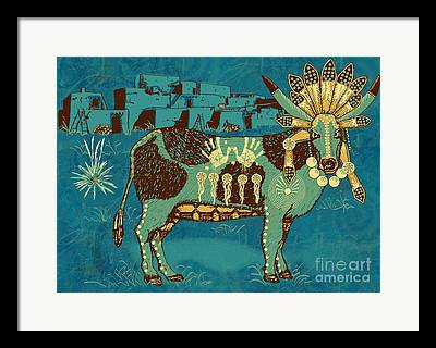 Hopi Framed Prints