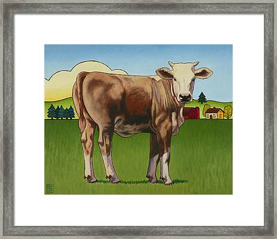 Cowgirl Framed Print by Stacey Neumiller