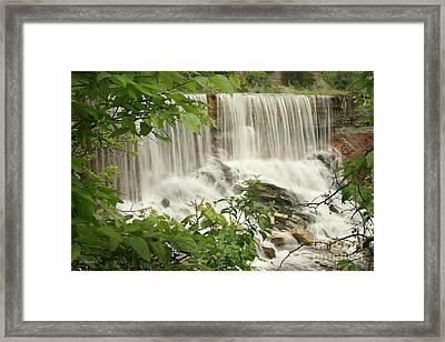 Cowley Falls Framed Print