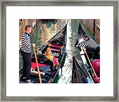 Coworkers Framed Print by Frozen in Time Fine Art Photography