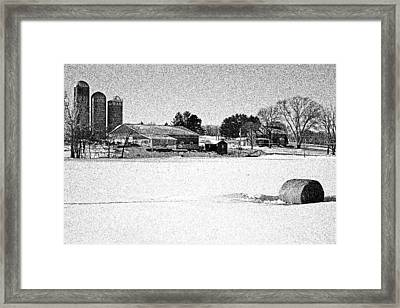 Cows Gone Home Framed Print