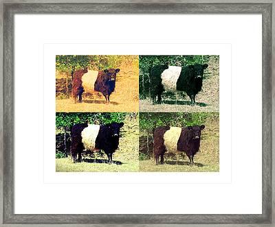 Cows Framed Print by Joanne Elizabeth