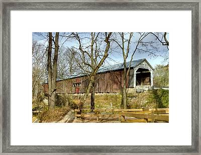 Cox Ford Covered Bridge Framed Print
