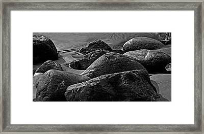 Cox Rocks Framed Print