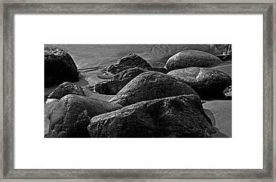 Cox Rocks Framed Print