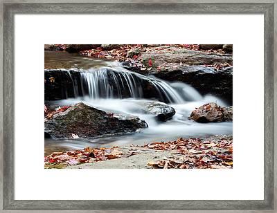 Coxing Kill In Autumn #1 Framed Print