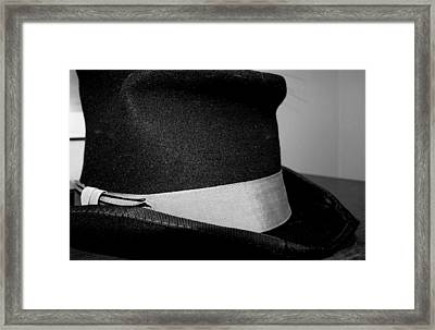 Coy's Hat Framed Print