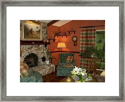 Cozy Corner Framed Print